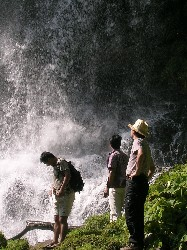 横谷峡 乙女滝
