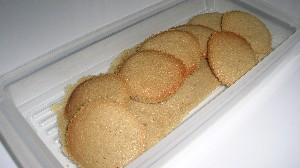 卵白 を使って 焼き菓子 ラングドシャ